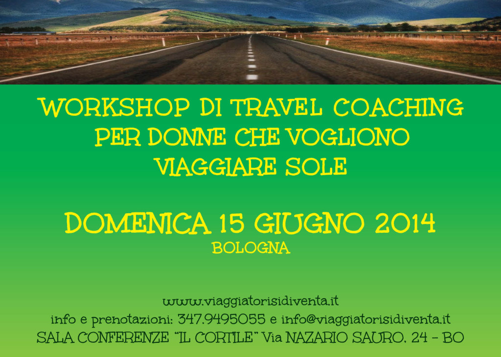 workshop travel coaching per donne