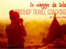 Workshop travel coaching per donne che vogliono viaggiare da sole