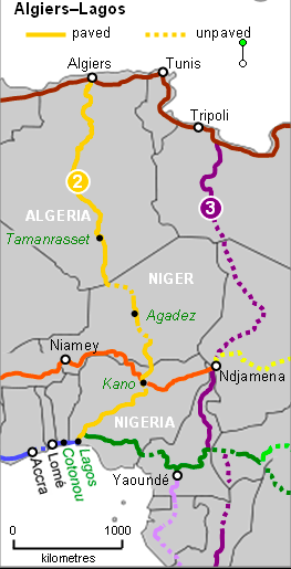 trans saharian highway
