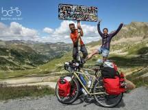 Simona e Daniele: 100.000 Km in bicicletta, da Roma ai passi più alti del mondo