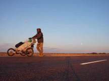 Mattia Miraglio: 50.000 km  a piedi in solitaria