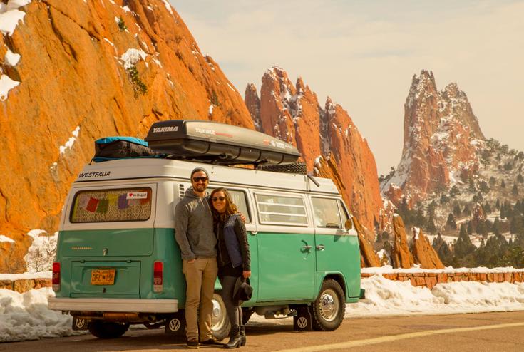 vivere viaggando in camper