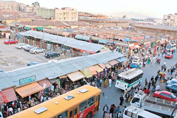 Addis merkato etiopia