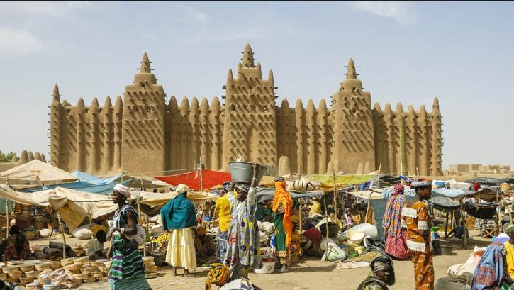 Mercato Djennè, Mali
