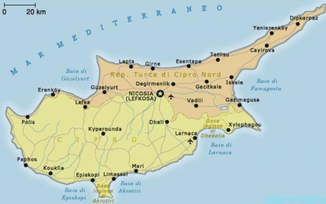 Paesi che non esistono, Cipro del nord