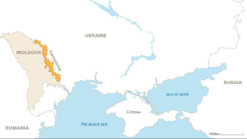 Paesi che non esistono, Transnistria