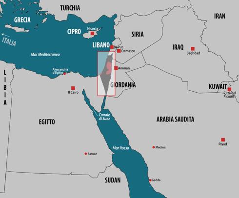 Paesi che non esistono, Palestina