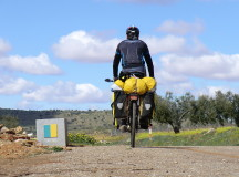 Alain Rimondi: il giro d'Europa in bicicletta