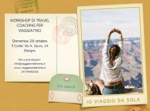 WORKSHOP TRAVEL COACHING PER VIAGGIATRICI
