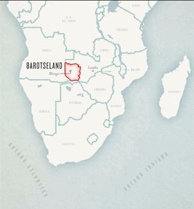 Paesi che non esistono, Barotseland